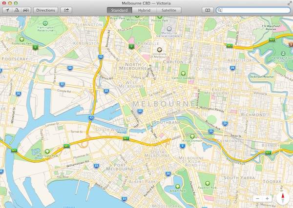Apple's Maps app