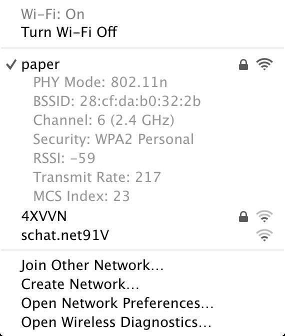 WiFi Option