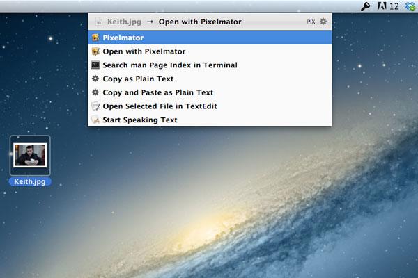 Opening Keith.jpg in Pixelmator
