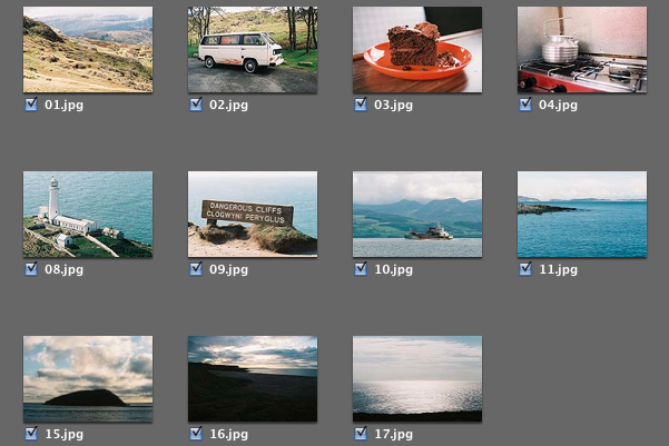Select the images you would like to import.