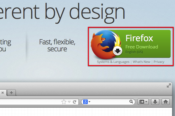 Download Firefox.