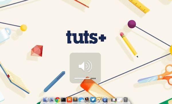Adjust Mac volume without making a sound