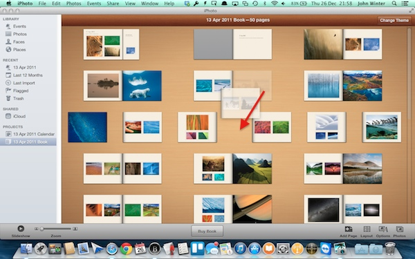 How to Create a Custom Photo Book Using iPhoto