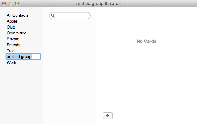 Creating your Christmas card list group in Contacts app