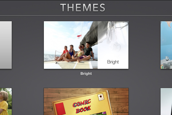 Choose a theme