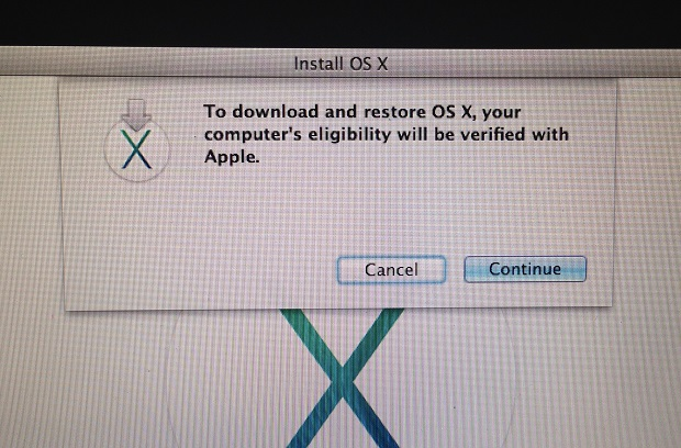The installer will need to take a few seconds to check your machines eligibility