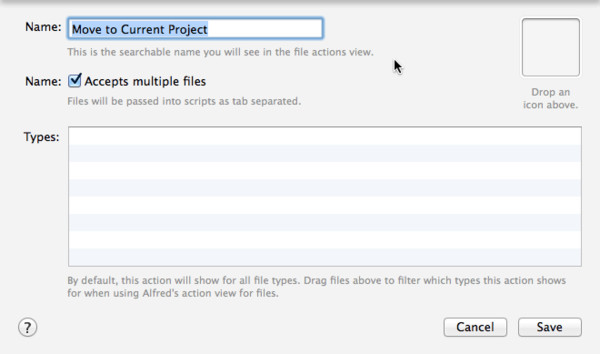 Downloads Tamer: File Action - Move to Current Project