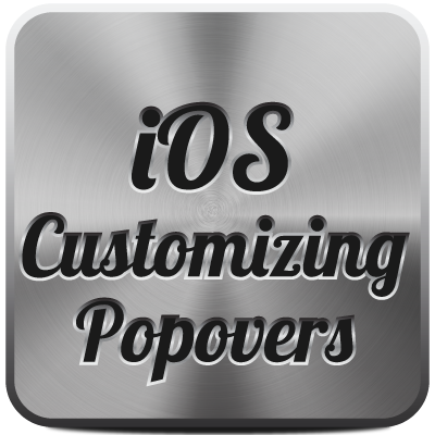 Link toIos sdk: customizing popovers