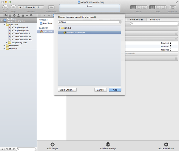 iOS 6 SDK: Displaying App Store Products In-App