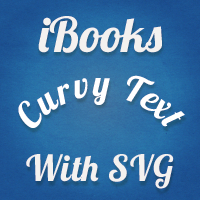 Using svg & illustrator to create curvy text