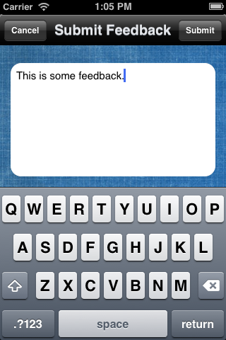 Testing with TestFlight: Give Users a Chance to Send Feedback - Figure 13