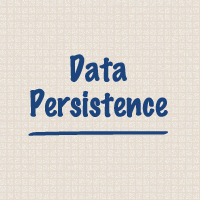 Link toData persistence and sandboxing on ios