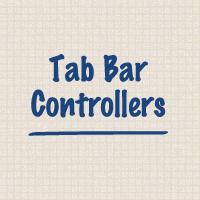 Exploring tab bar controllers
