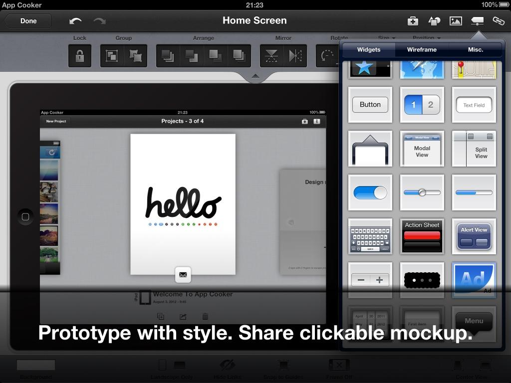 App-Cooker-Screenshot-iPad-Mockup