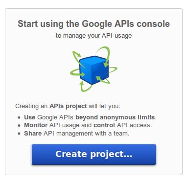 APIs Console
