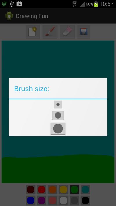 Brush Dialog