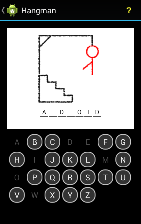 Android Hangman Game Final