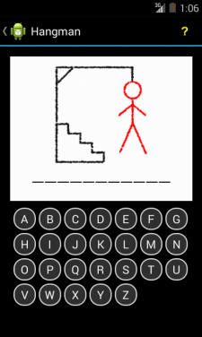 Android Hangman Game