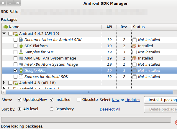 When you create an AVD (Android Virtual Device) to test an app using Google  Play Services, choose Google APIs ...
