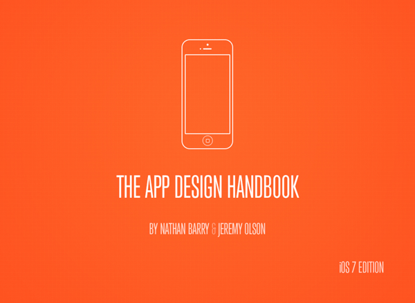 The App Design Handbook has been updated for iOS 7.
