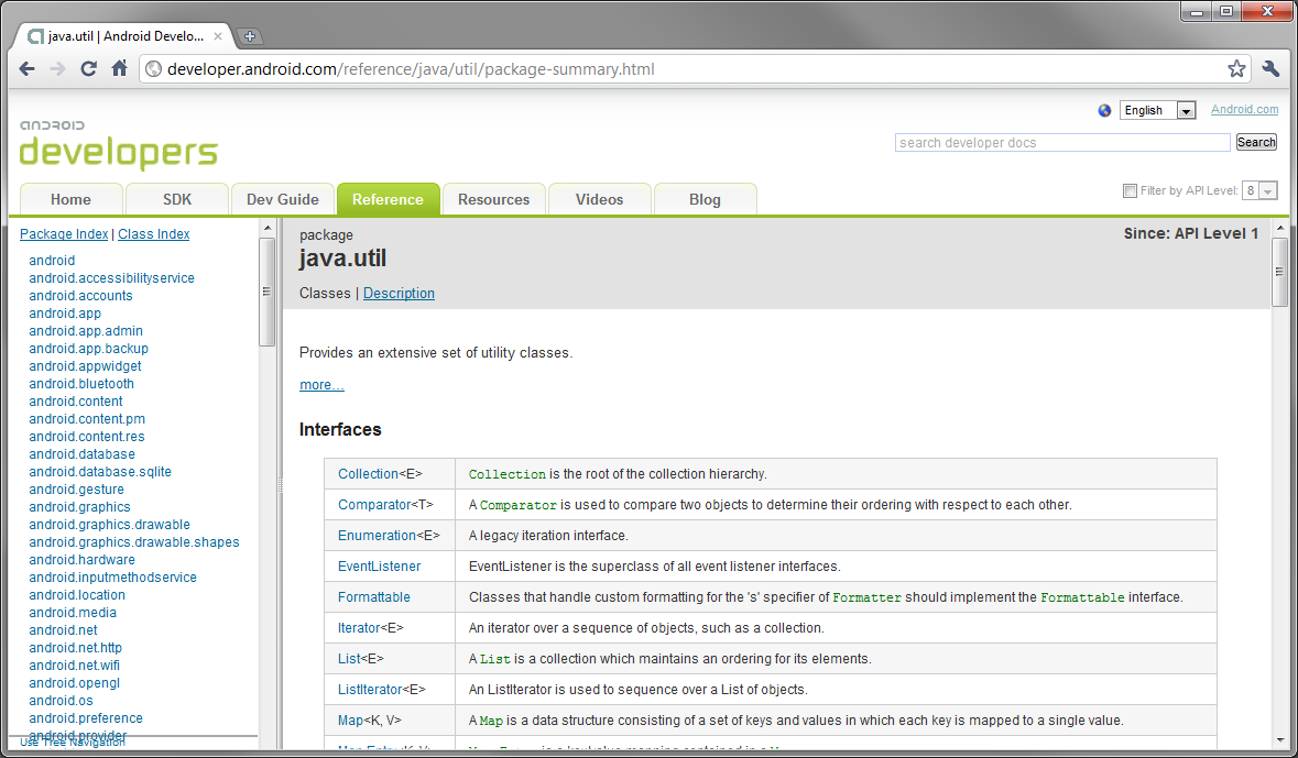 what is a template in java - learn java for android development javadoc code
