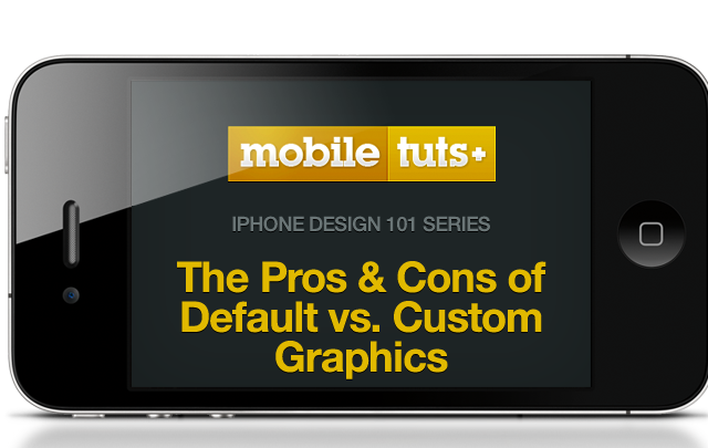 The Pros and Cons of Apple Default vs  Custom Graphics