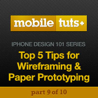 Preview for 5 Steps for Wireframing and Paper Prototyping Mobile Apps