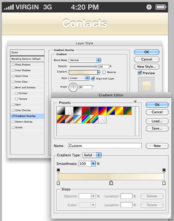 Design & Build a 1980s iOS Phone App: Design the Contacts Screen
