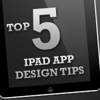 Link toTop 5 tips for designing ipad apps