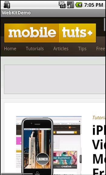 Android Webview: Webkit Rendering