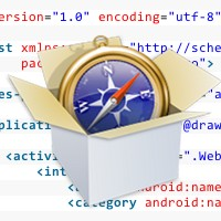 Android sdk: embed a webview with the webkit engine