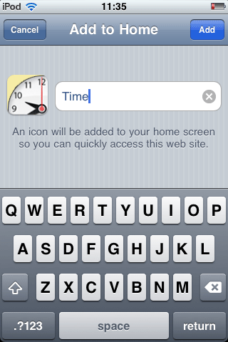 Build an iPhone Web App