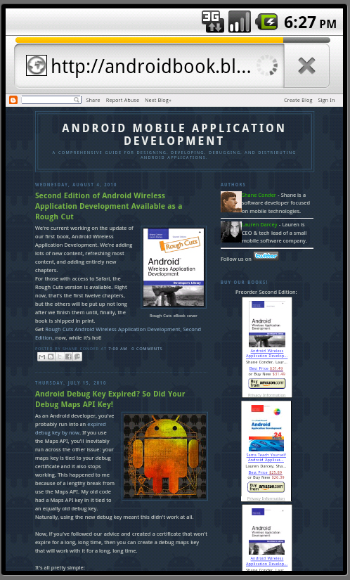 Launching the Browser From Your Android Applications - The