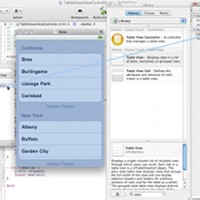Preview for iPhone SDK: Working with the UITableView Class - Part 1
