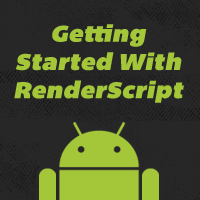 Link toGetting started with renderscript on android