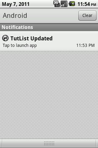 Android Fundamentals: Status Bar Notifications