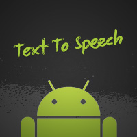 Link toAndroid sdk: using the text to speech engine