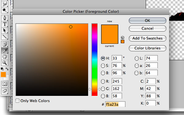 Pick Gradient Color