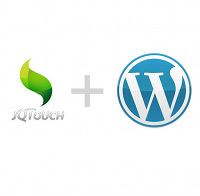 Jqtouch wordpress