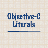 Preview for Objective-C Literals