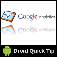 Link toAndroid sdk: enabling google analytics to gather app statistics