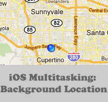 Preview for iOS Multitasking: Background Location