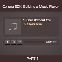 Link toCorona sdk: creating a music player - application setup