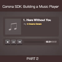 Link toCorona sdk: creating a music player app - final steps