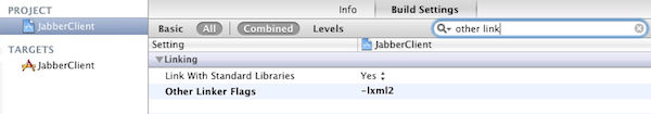Including xml2 library
