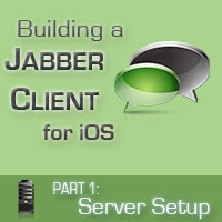 Link toBuilding a jabber client for ios: server setup