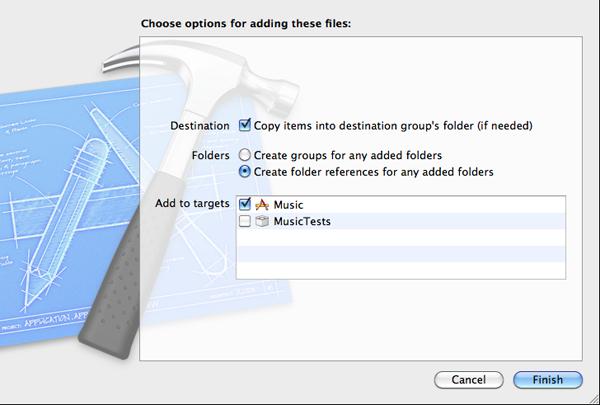 Adding Files