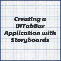 Ios quick tip: creating a uitabbar application with storyboards
