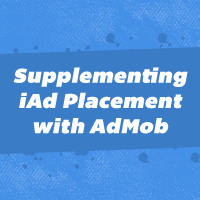 Link toSupplementing iad placement with admob