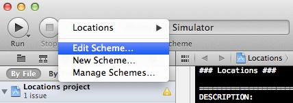 Configuring a Default Location